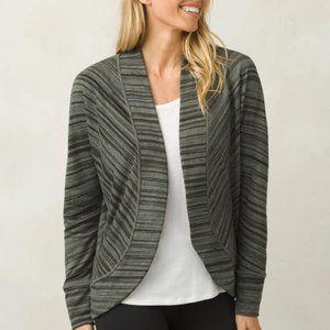 Gray/Black Sweater Small PRANA Women's Paradiso